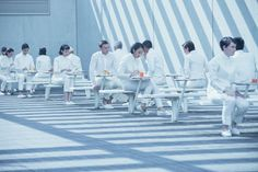 Equals Movie; this kind of clean, neat environment can give a suitable atmosphere for some of the technology we want to incorporate.