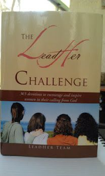 The LeadHer Challenge - A 365- Day Devotional - blessed to be one of the authors in this devo book w/ @Lyn Smith, @Leslie Lamb, @Christie Love, @Jill Hart, @Sarah Schrieber, @Chelsea Eubank, @Susan Lawrence & @Susan Tolleson