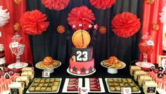Basketball Chicago Bulls Party | Andy's 1st Birthday
