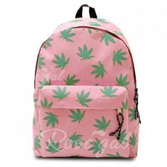 Casual Leaf Print and Canvas Design Women's SatchelBags   RoseGal.com