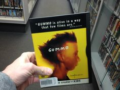 """Find CULT FILMS like GUMMO on DVD...  ...set in XENIA, OH...  ...""""from the creator if Kids"""", so you know it's GRAPHIC!  ...MAINSTREAM & CULT CLASSICS...  @ The Exchange Stores!!!"""