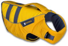 Keep your dogs save on the water with the Ruffwear K-9 Float Coat.