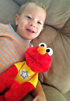 Toddler Talking Elmo Toy - my son loves his talking Elmo doll.  #ToddlerToys #BestToys