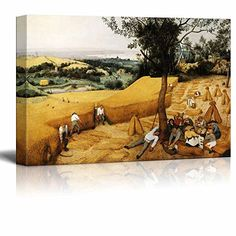 The Harvesters by Pieter Bruegel the Elder - Canvas Wall ... https://www.amazon.com/dp/B01LYX9Z3D/ref=cm_sw_r_pi_dp_x_3cC3yb2VSS7KS