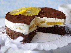Orangen-Tiramisu-Torte