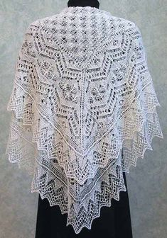 Fiddlesticks Knitting--Dorothy Siemens--Tina Shawl