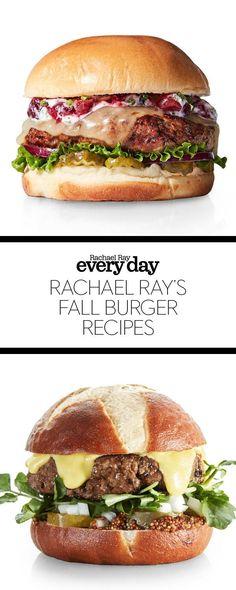 Rachael Ray's Burger Recipes