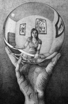 Artists Like M.C. Escher | Escher Appropriation by AaVeRyY