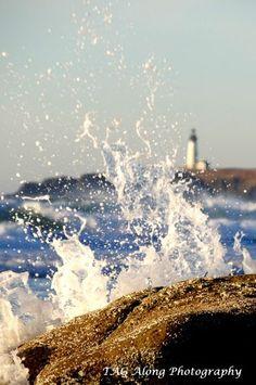 #Lighthouse at Newport, #Oregon http://www.roanokemyhomesweethome.com