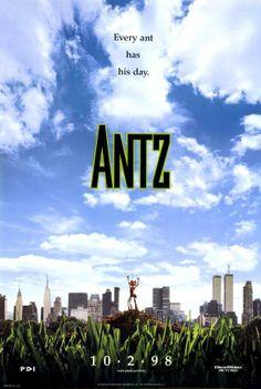 ANTZ // usa // DreamWorks 1998