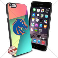 """Ncaa Boise State Broncos,iPhone 6 4.7"""" & iPhone 6s Case Cover Protector for iPhone 6 & iPhone 6s TPU Rubber Case for Smartphone Black SHUMMA http://www.amazon.com/dp/B01BZWGVJK/ref=cm_sw_r_pi_dp_11lYwb1WWVNGQ"""