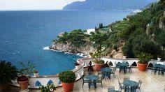 Amalfi Coast Hotel Amalfi Coast Hotels, Villa Amalfi, Italy Tourism, To Go, Patio, Seaside, Places, Outdoor Decor, Wanderlust