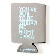 Koozie Cat To Be Kitten Me - Amber