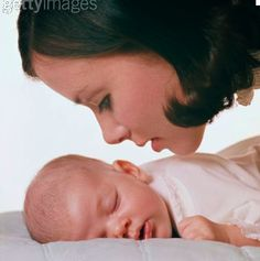 Even the most gentle breeze on a baby's face is no match to a mothers softly spoken words of love.