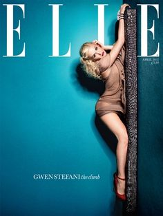 Gwen Stefani for the cover of Elle, April 2011.