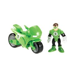 """Fisher-Price Imaginext DC Super Friends Figure - Cycle with Green Lantern - Fisher-Price - Toys """"R"""" Us"""