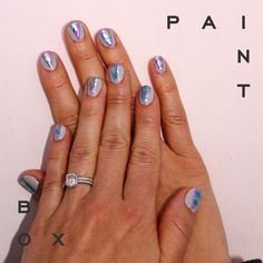 Electric Feel - Paintbox SS'15 Collection #paintboxmani #nailart