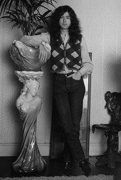 Led Zeppelin, Jimmy Page. I don't think anyone understands how much I love Jimmy.