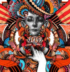 flaKo CD cover by Iain MacArthur. #music #album #cover #art