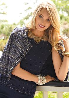 Lilly Pulitzer Fall '13- Hagen Jacket, Kate Sweater & Luxury Capri