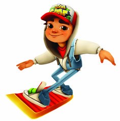 Help Jake to Run Faster then Angry Inspector and his mad Dog - #subwaysurfers