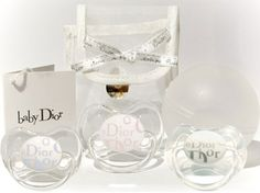 Baby Dior pacifiers