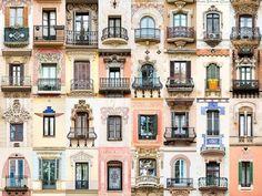 Avrupa'nın en güzel kapılarını ve pencerelerini çekti!