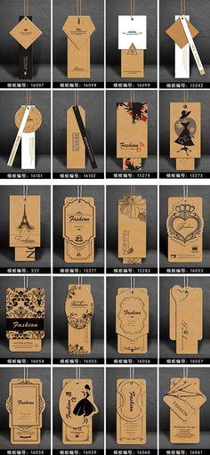 New Fashion Logo Design Inspiration Hang Tags Ideas Clothing Logo, Clothing Labels, Clothing Hang Tags, Clothing Branding, Label Design, Packaging Design, Hangtag Design, Custom Paper Bags, Paper Bag Design