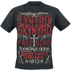 1973 Hits - T-Shirt by Lynyrd Skynyrd