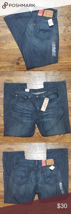 "NWT Levi's 559 36X30 Relaxed Straight Fit Men's pair of Levi's jeans. 559 style, says ""sits below waist, extra room through thigh, straight leg"" Levi's Jeans Straight"
