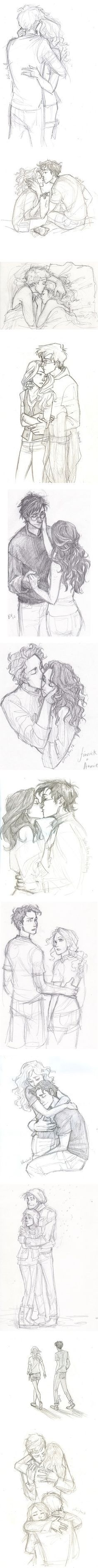 Love the feel and emotion captured in these sketches!  :}