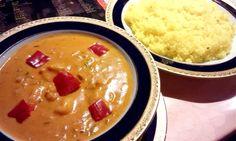 """Prawn shagne curry.  (""""Shangri la"""" in Tokyo)"""