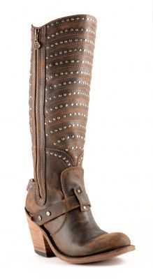 Womens Liberty Black Vintage Cowboy Boots Cafe #Lb-71242a #cowgirl