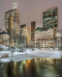Central Park South and Fifth Avenue