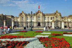Peru-Lima-Palacio de Gobierno-Plaza de Armas