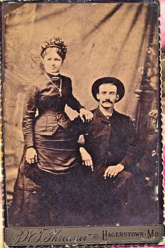 1880's-I LOVE this picture. She is beautiful, love the smiles, the dress....