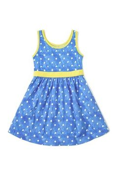 Jenny Polka Dot Sleeveless Dress (Toddler, Little Girls, & Big Girls)