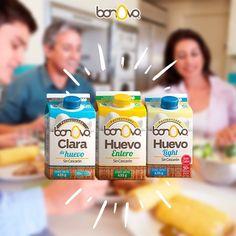 Justo los bricks que tu familia necesita. Uno para cada quien ;) #Bonovo #SaldelCascarón #Huevos #Cocina #Food #Comida #Delicioso