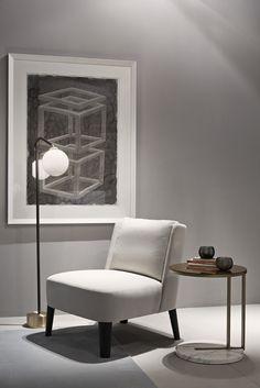 MERIDIANI I CECILE small armchair I RALF side table