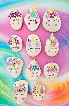 MAGICAL DIY UNICORN ROCKS - Hello Wonderful