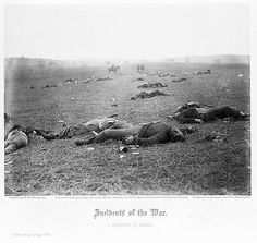 In Memoriam, 2012: http://reflectionsofaparalytic.com/?p=8886 Img: Incidents of the war. A harvest of death, Gettysburg, July 1863