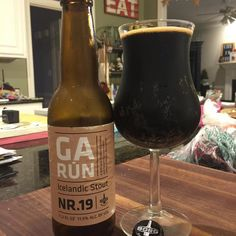 @borgbrugghus Garun!  If you like licorice then this #stout from Iceland is for you!  A nice change of pace!  #stouts #stoutwhisperer #craftbeer #beer #drink #stoutmoji #drinks #craftbeernotcrapbeer #beverage #beergeek