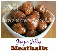 Crock Pot Party Meatballs