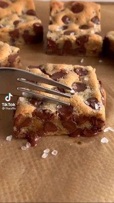 Fun Baking Recipes, Snack Recipes, Dessert Recipes, Baking Desserts, Sweet Recipes, Starbucks Recipes, Food Cravings, Diy Food, Chocolate Chip Cookies