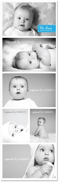 Simple baby photos - love how the personality shines through instead of cutesy stuff that will look dated in a few years Toddler Photography, Newborn Baby Photography, Newborn Photos, Family Photography, Photography Collage, Photo Bb, Jolie Photo, Baby Shooting, Shooting Photo