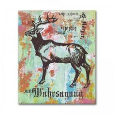 Elk Silk Screen by Dolan Geiman