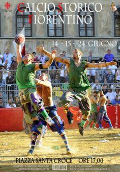 Calcio Storico Fiorentino - Programma 2014
