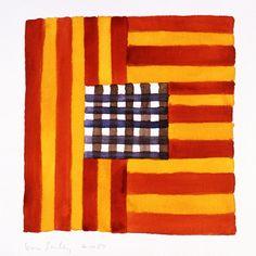 4.10.87, 1987/2013  by Sean Scully  Print