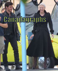 Jennifer Morrison and Colin O'Donoghue BTS for 5x03