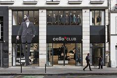 Celio CLUB flagship store by Costa Imaginering Paris